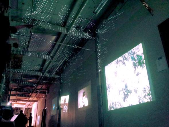 Adan De La Garza's April BYOB at Chestnut Studios