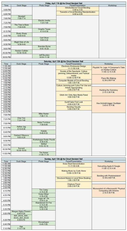 2014CircuitBendersBallSchedule